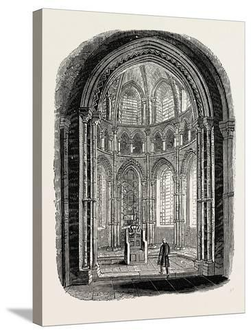 Chapel in Canterbury Cathedral--Stretched Canvas Print