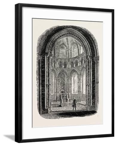 Chapel in Canterbury Cathedral--Framed Art Print