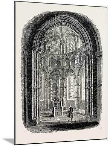 Chapel in Canterbury Cathedral--Mounted Giclee Print