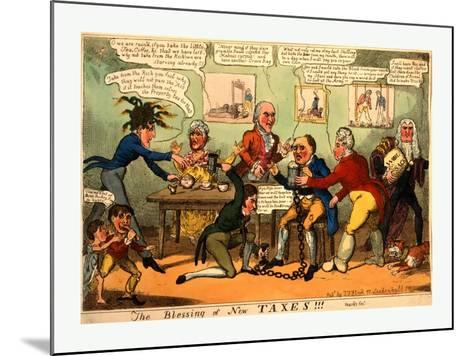 The Blessing of New Taxes!!!--Mounted Giclee Print