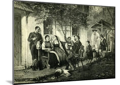 Sunday Hunters Austria 1891--Mounted Giclee Print