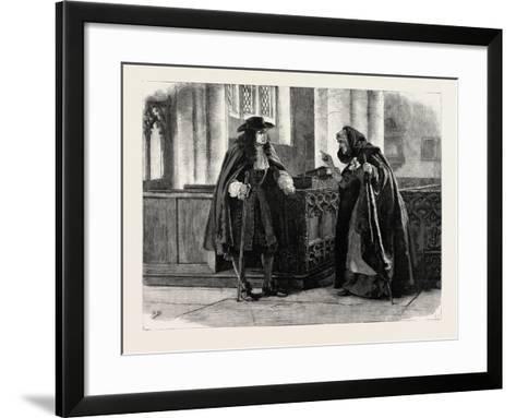 Urith: a Tale of Dartmoor, 1890--Framed Art Print