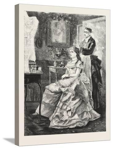 Interior in the Mansion, 1876, UK--Stretched Canvas Print