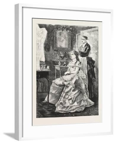 Interior in the Mansion, 1876, UK--Framed Art Print