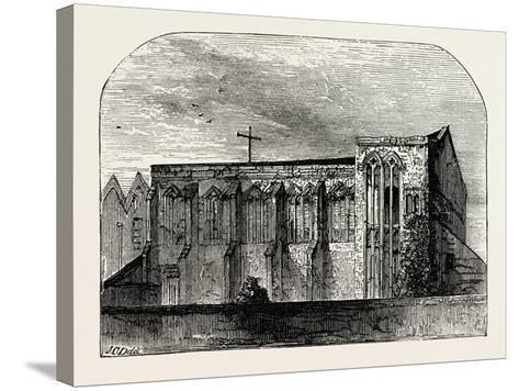 King John's Palace at Eltham--Stretched Canvas Print