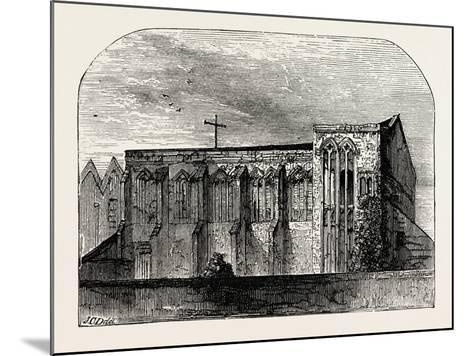 King John's Palace at Eltham--Mounted Giclee Print