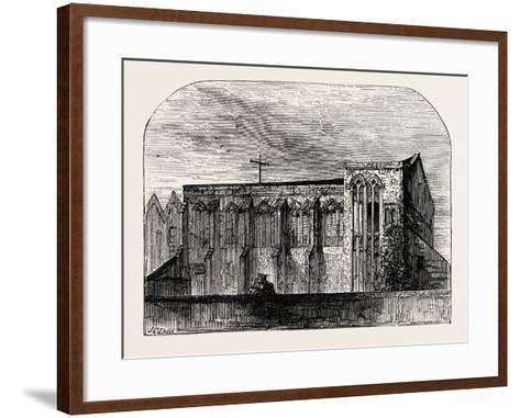 King John's Palace at Eltham--Framed Art Print
