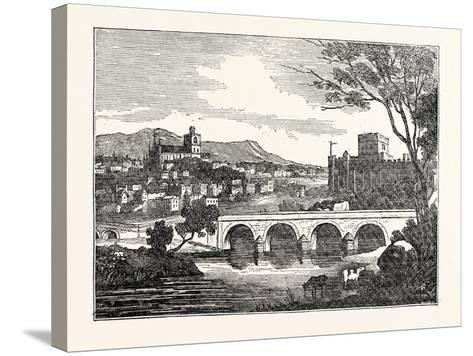 View of the City of Carlisle U.K--Stretched Canvas Print