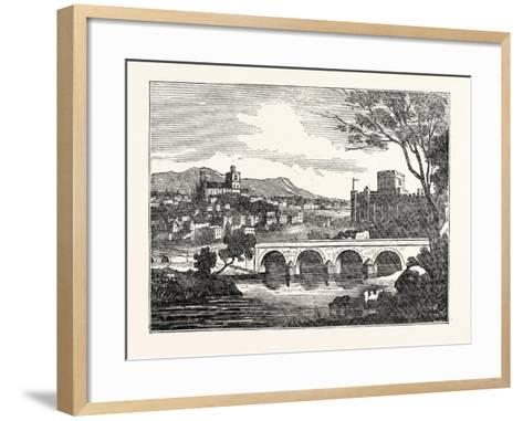 View of the City of Carlisle U.K--Framed Art Print