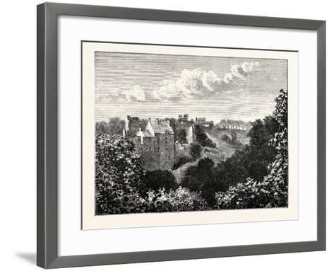 Edinburgh: Roslin Castle and Glen--Framed Art Print