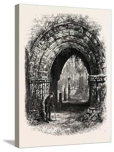 Furness Abbey, UK--Stretched Canvas Print