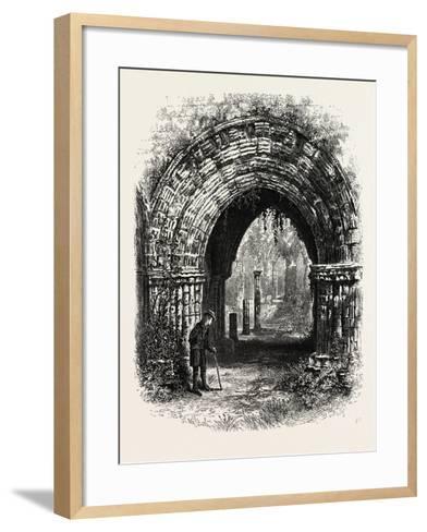 Furness Abbey, UK--Framed Art Print