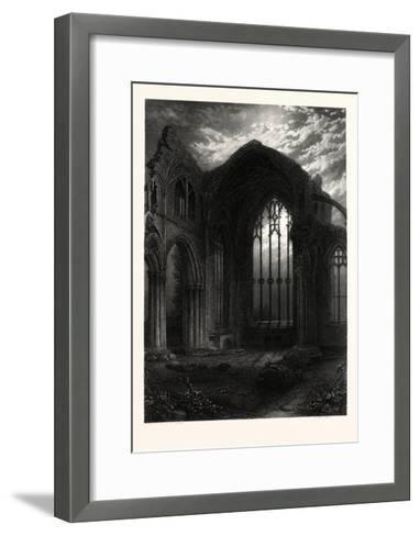 Melrose Abbey, UK--Framed Art Print