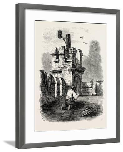 Church Beacon Near Barnet--Framed Art Print