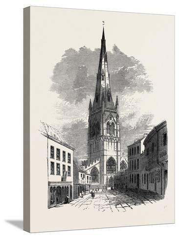 St. Mary's Church, Newark--Stretched Canvas Print