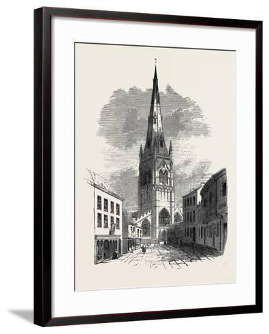 St. Mary's Church, Newark--Framed Art Print