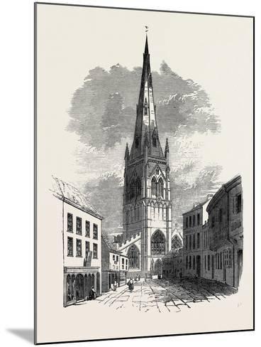 St. Mary's Church, Newark--Mounted Giclee Print