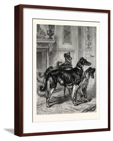 Gentlemen of Leisure--Framed Art Print