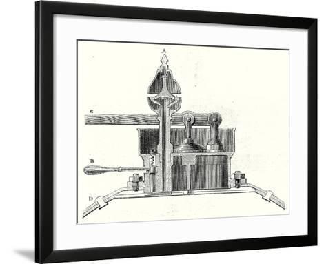 Safety Valve and Whistle--Framed Art Print