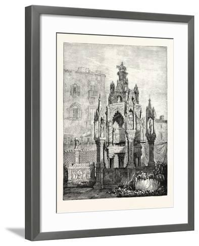 Tomb of the Scaligers--Framed Art Print