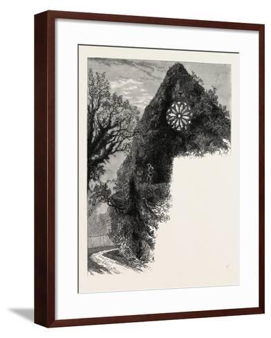 Dryburgh Abbey, UK--Framed Art Print