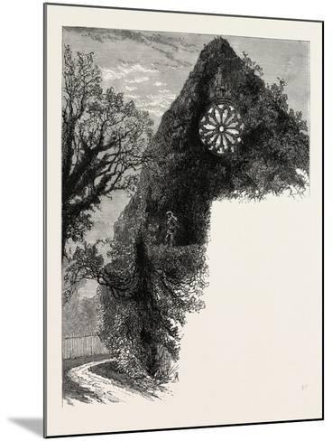 Dryburgh Abbey, UK--Mounted Giclee Print