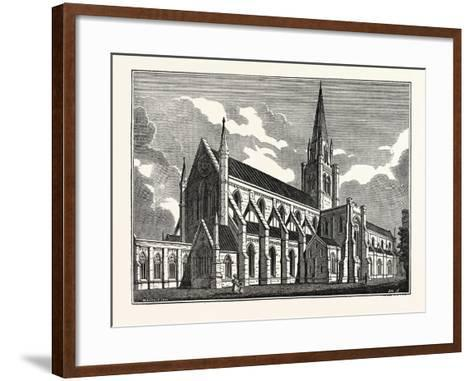 Chichester Cathedral, UK--Framed Art Print