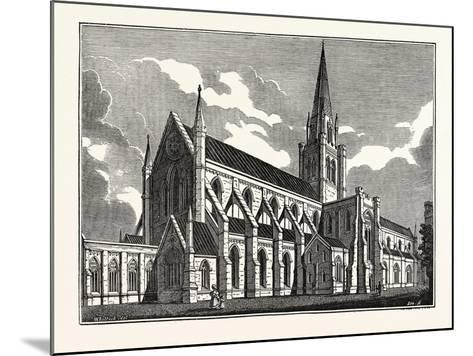 Chichester Cathedral, UK--Mounted Giclee Print