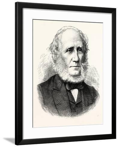 Mr. Duncan Mclaren--Framed Art Print