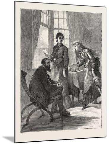 The Village Comedy, 1876--Mounted Giclee Print