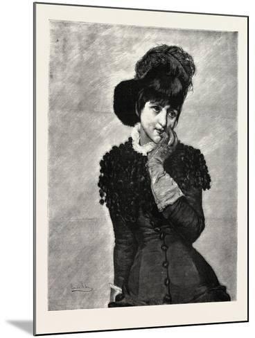 Prose, Lady, Fashion, 1882--Mounted Giclee Print