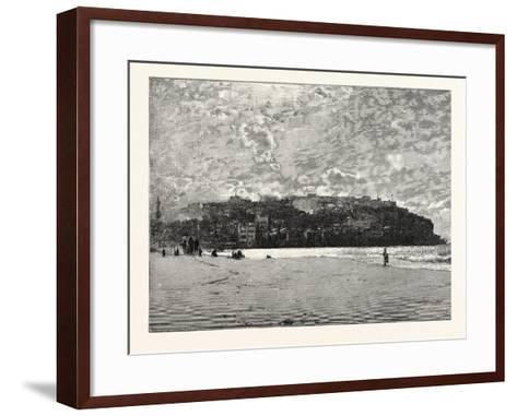 Jaffa from the Sands--Framed Art Print