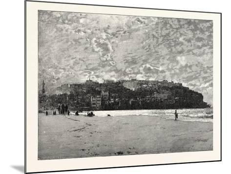 Jaffa from the Sands--Mounted Giclee Print