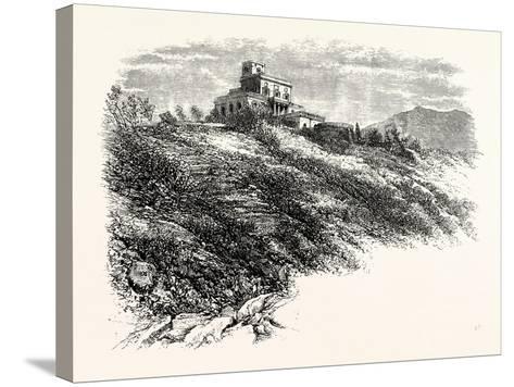 Observatory Vesuvius--Stretched Canvas Print