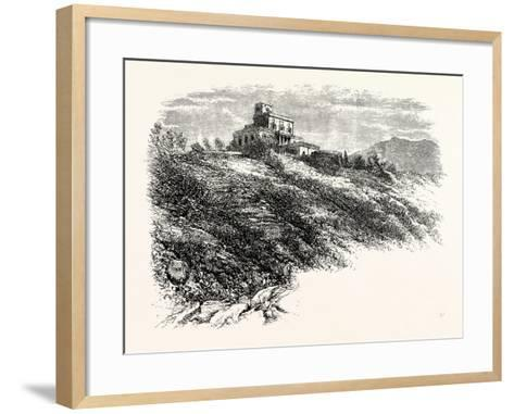 Observatory Vesuvius--Framed Art Print