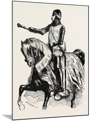 Edward the Black Prince--Mounted Giclee Print