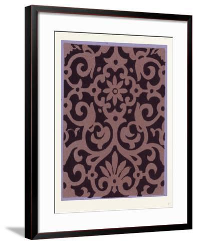 Elizabethan Ornament--Framed Art Print