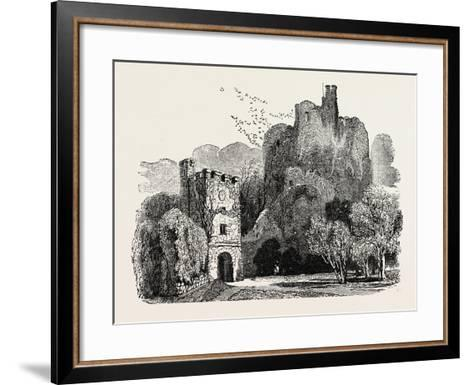 Ruins of Arundel Castle--Framed Art Print