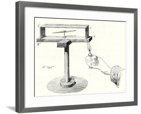 Seebeck's Experiment--Framed Art Print