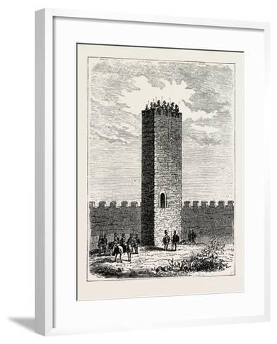 Roman Watch-Tower--Framed Art Print