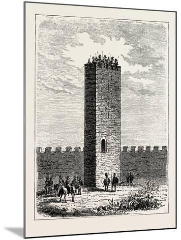 Roman Watch-Tower--Mounted Giclee Print