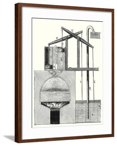 Leupold's Machine--Framed Art Print