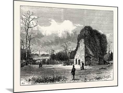 Edinburgh: Lennox Tower--Mounted Giclee Print