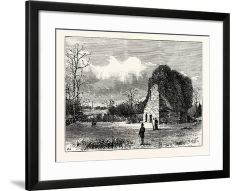Edinburgh: Lennox Tower--Framed Art Print