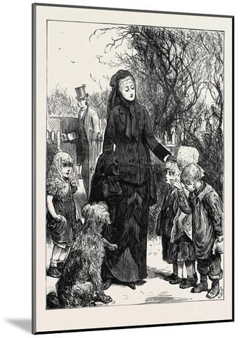 The Rich Widow 1880--Mounted Giclee Print