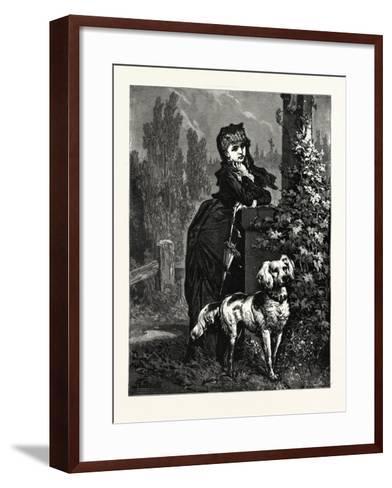 What Keeps Him?--Framed Art Print