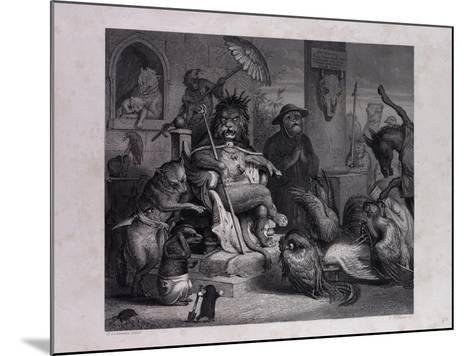 Reynard Accused--Mounted Giclee Print