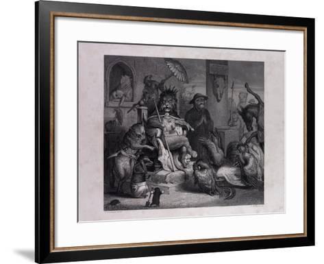 Reynard Accused--Framed Art Print