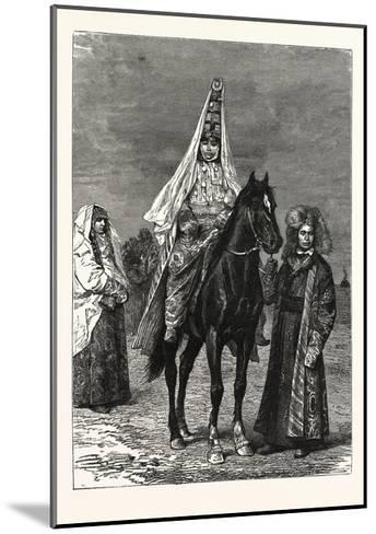 A Kirghiz Bride--Mounted Giclee Print