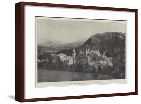 Craig-Y-Nos Castle, Brecknockshire, the Seat of Madame Patti--Framed Art Print